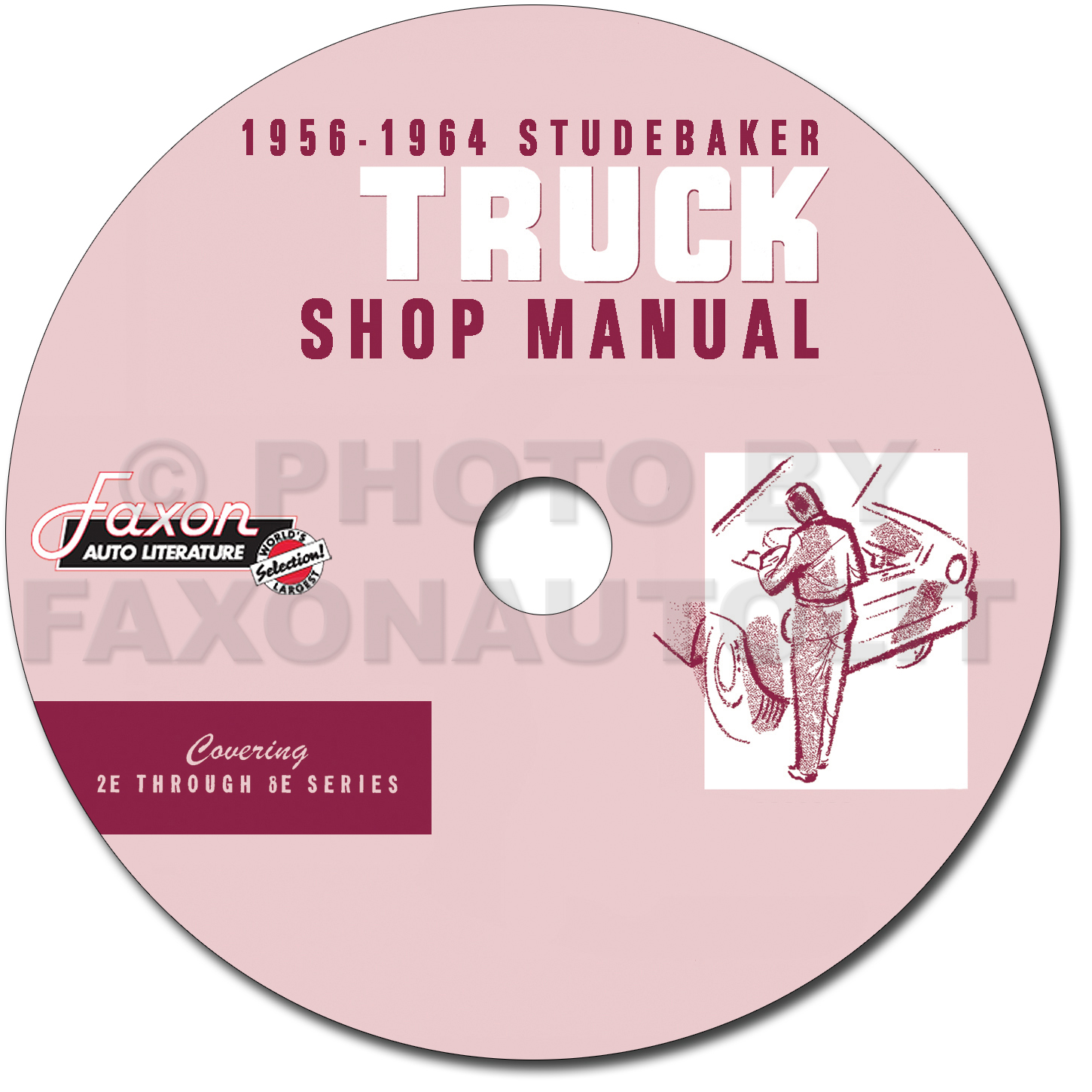 1956-1964 Studebaker Pickup Truck Repair Shop Manual on CD-ROM