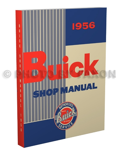 1956 Buick Shop Manual Reprint