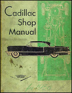 1956 Cadillac Shop Manual Original