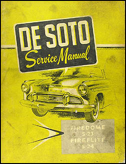 1956 DeSoto Shop Manual Original