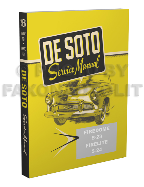 1956 DeSoto Shop Manual Reprint