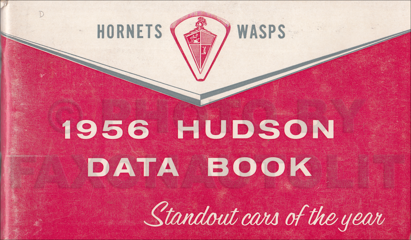 1956 Hudson Hornet and Wasp Data Book Original