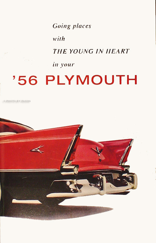 1956 Plymouth Owner's Manual Reprint