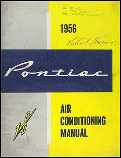 1956 Pontiac Air Conditioning Repair Manual Original