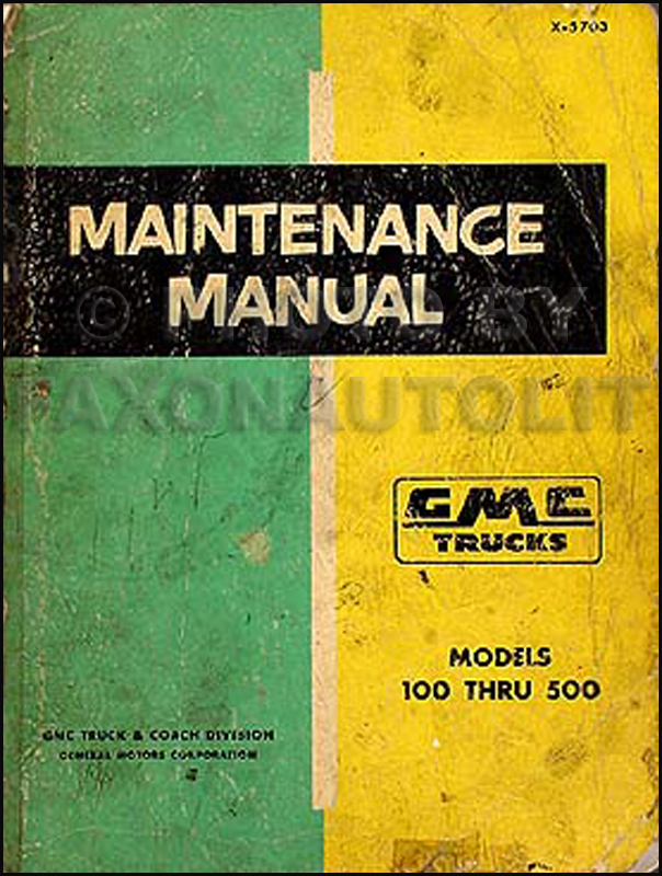 1950-1959 Chevrolet and GM Parts Interchange Book Reprint