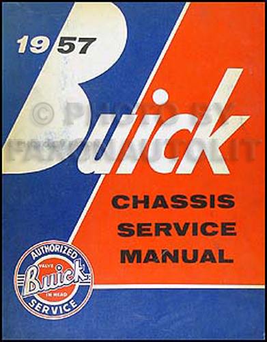 1957 Buick Shop Manual Original--All Models