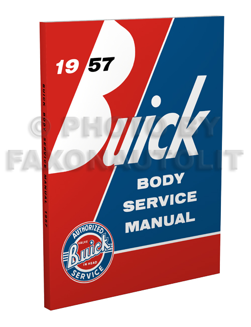 1957 Buick Body Service Manual Reprint
