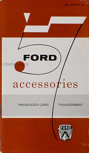 1957 Ford Car Dealer Reprint Accessory Catalog with pictures
