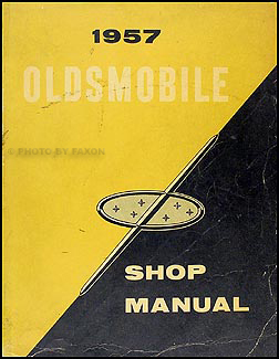 1957 Oldsmobile Repair Manual Original