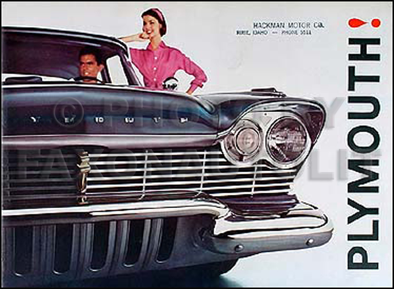 1957 Plymouth Original Sales Literature