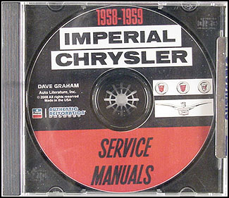 1958-1959 Chrysler CD Shop Manual
