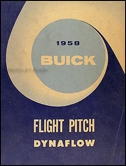 1958 Buick Flight Pitch Dynaflow Transmission Manual Original