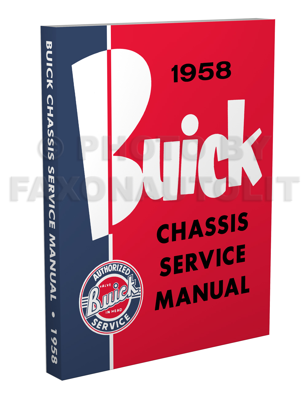 1958 Buick Shop Manual Reprint--All Models