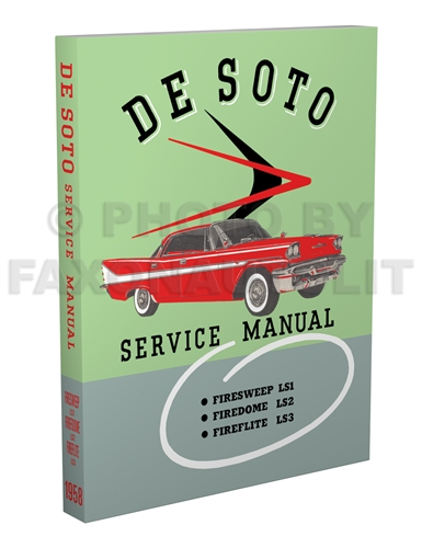 1958 DeSoto Shop Manual Reprint