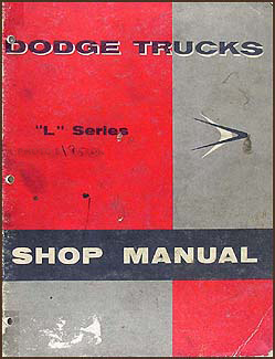1958 Dodge Truck Shop Manual Original