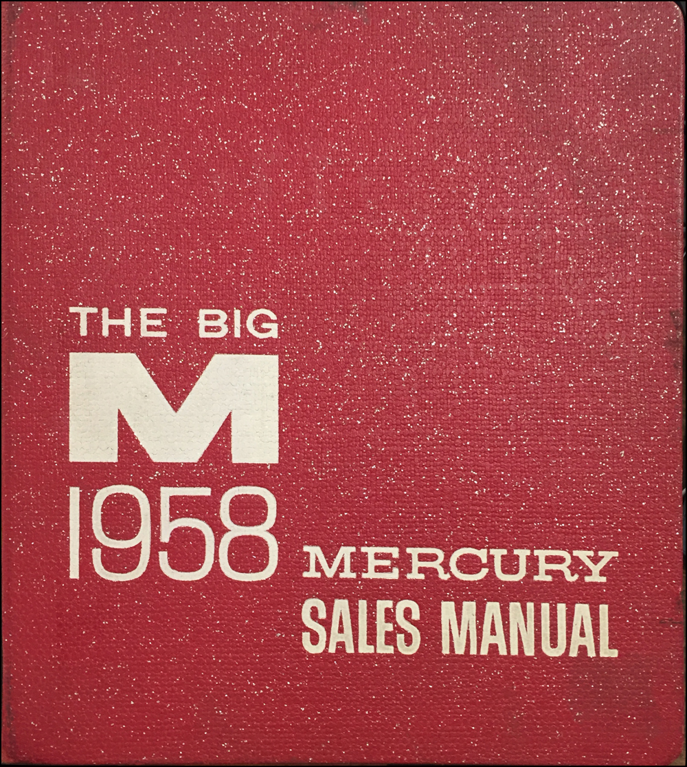 1958 Mercury Data Book Sales Album Original