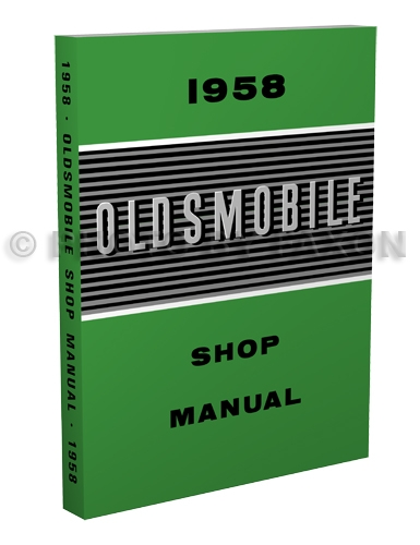 1958 Oldsmobile Repair Manual Original