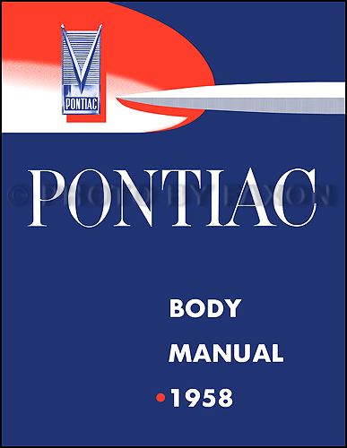 1958 Pontiac Body Manual Reprint