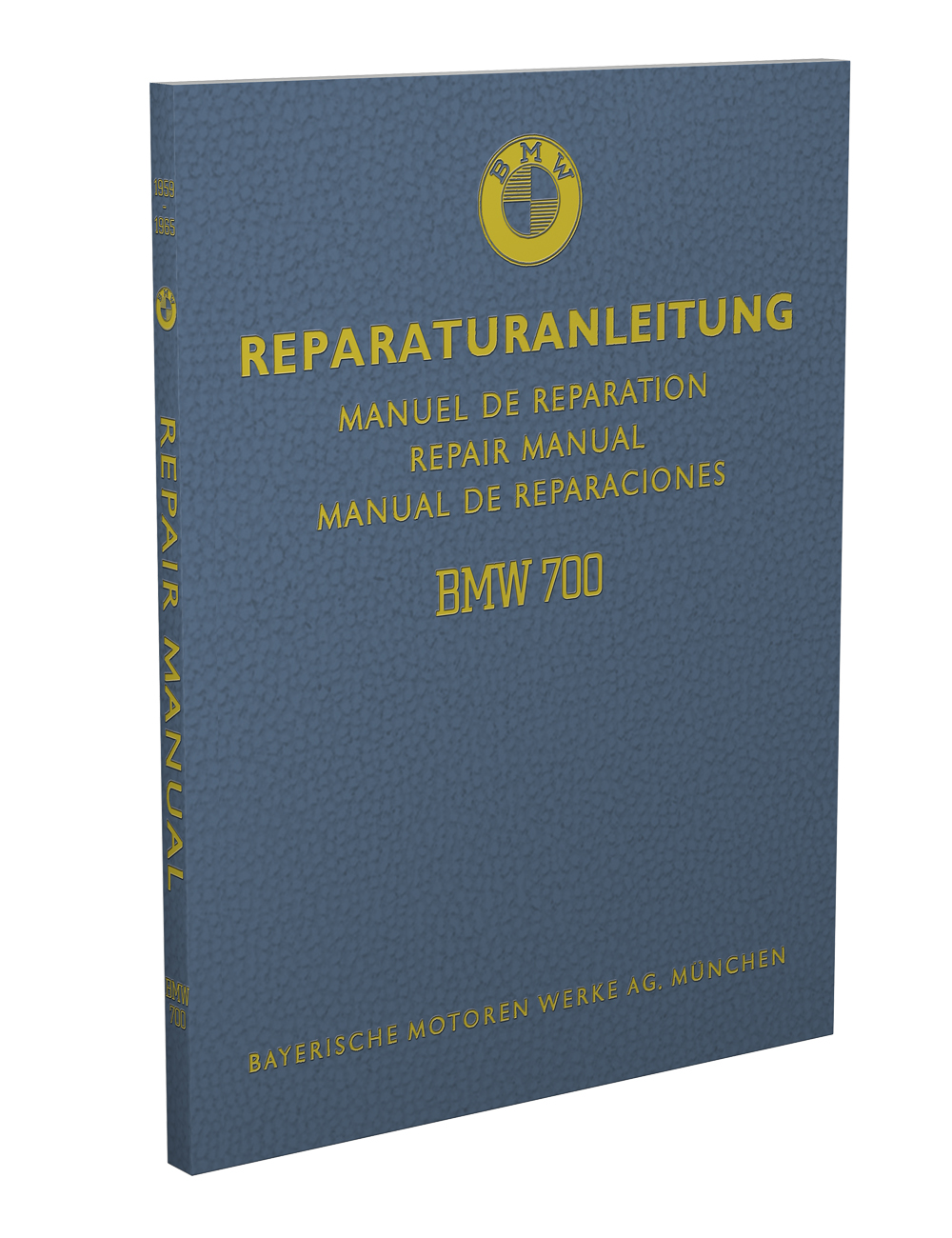 1959-1965 BMW 700 Repair Manual Original