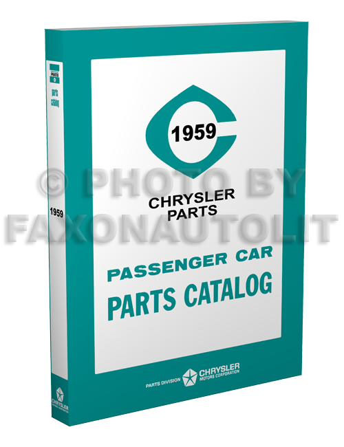 1959 MoPar Car Parts Book Reprint