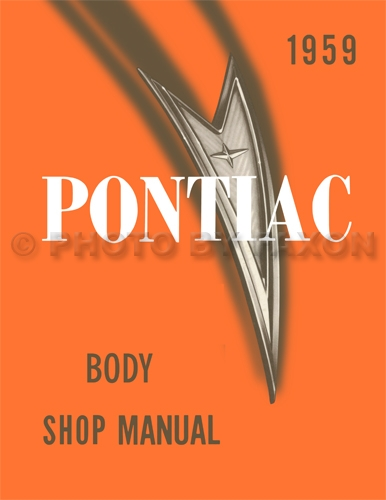 1959 Pontiac Body Manual Reprint