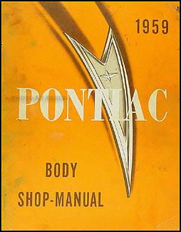 1959 Pontiac Body Manual Original