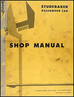 1959 Studebaker Repair Shop Manual Original -- All Car Lines