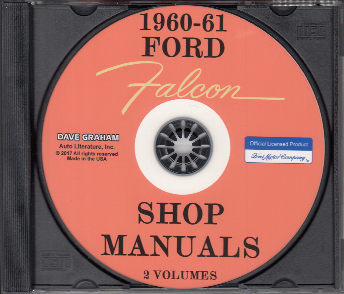 1967 CD Shop Manual Mustang Falcon Fairlane Ranchero Cougar Comet Cyclone