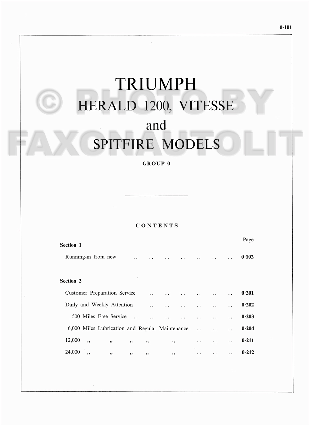 1960 1963 Triumph Spitfire And Herald Repair Shop Manual Original Wiring Diagram 67 Gt6