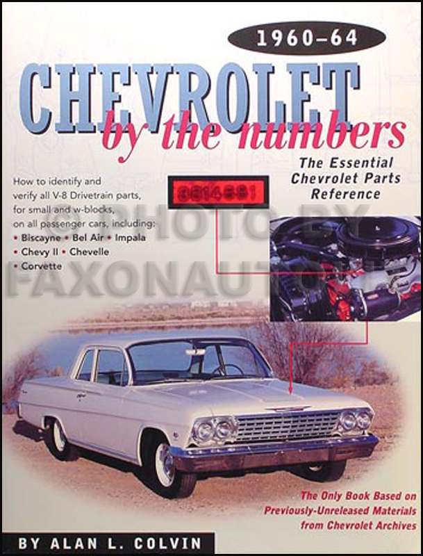 1961 Chevrolet Car Reprint Owner U0026 39 S Manual Package