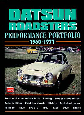 Datsun Roadsters Performance Portfolio 1960-1971