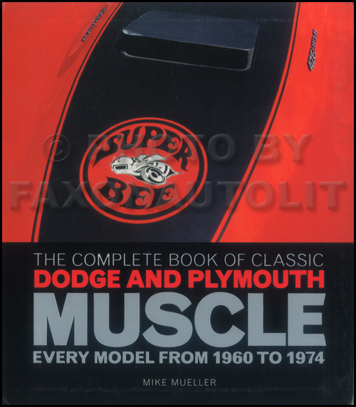 The Complete Book of Dodge and Plymouth Muscle