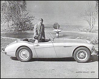 1959-1961 Austin Healey 3000 Specifications Sheet