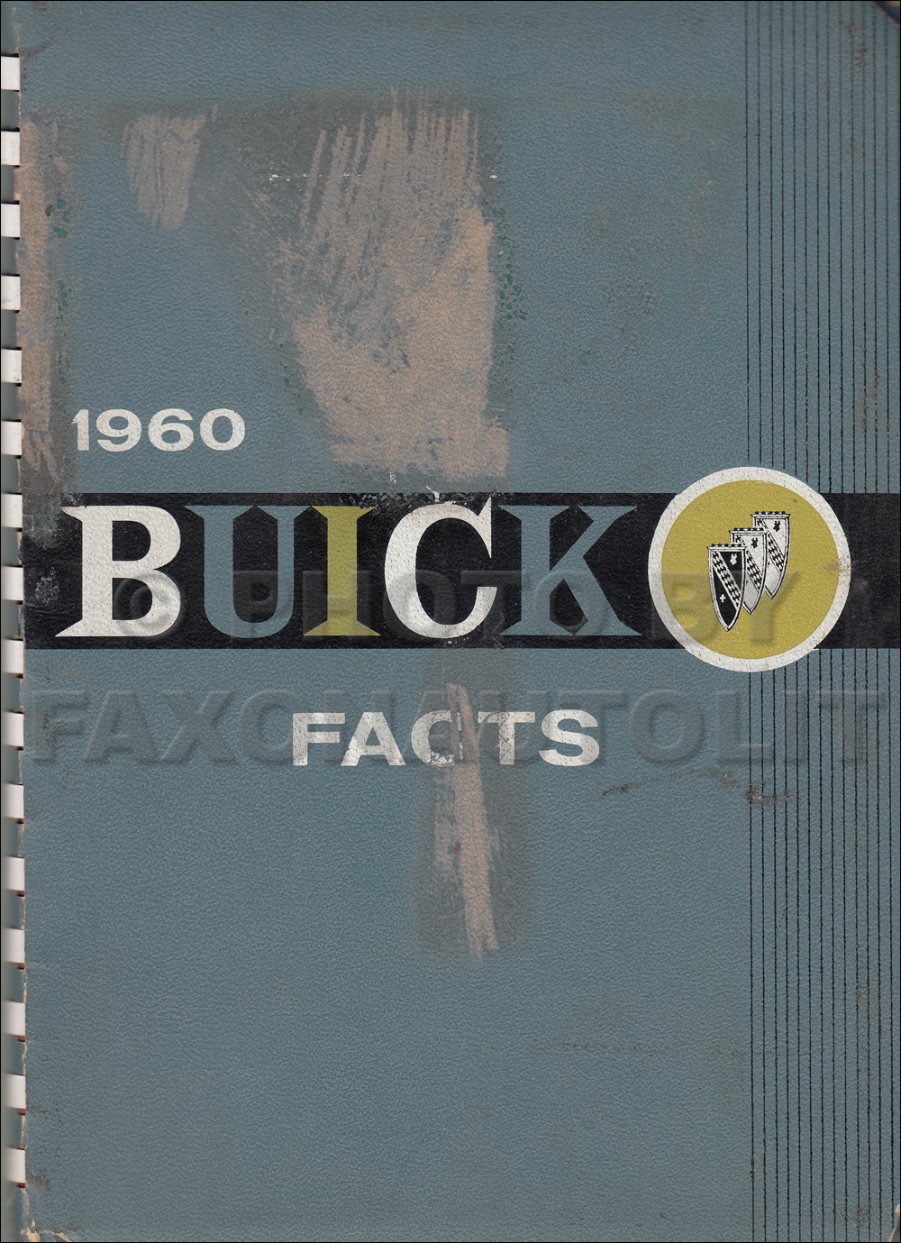 1960 Buick Features Facts Book Canadian Original
