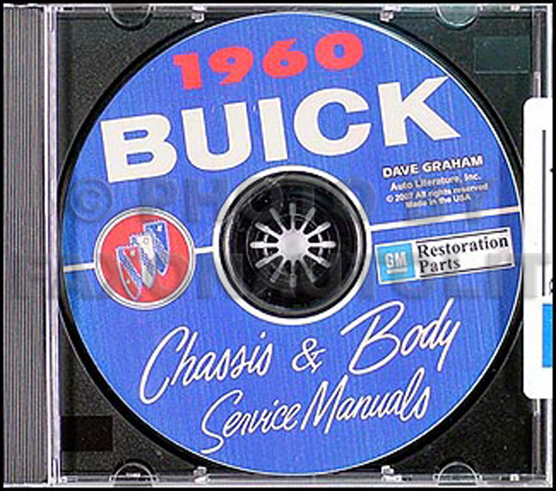 1960 Buick CD-ROM Shop Manual & Body Manual