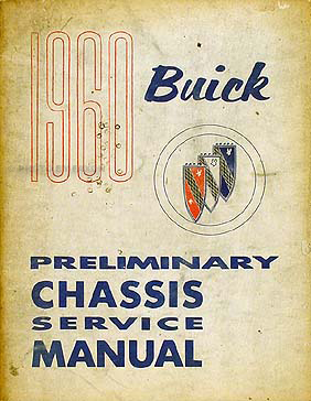 1973 Buick Preliminary Shop Manual Original Riviera/Electra/etc.