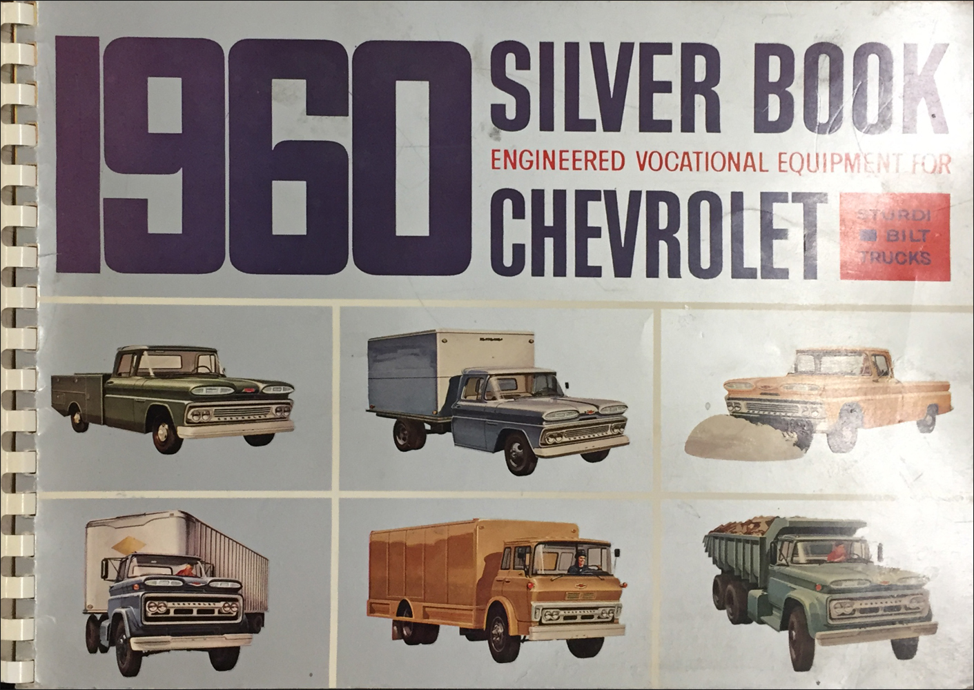 1960 Chevrolet Truck Silver Book Special Equipment Dealer Album