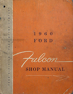 1960-1961-1962-1963 falcon and ranchero cd-rom repair shop manual & parts  book