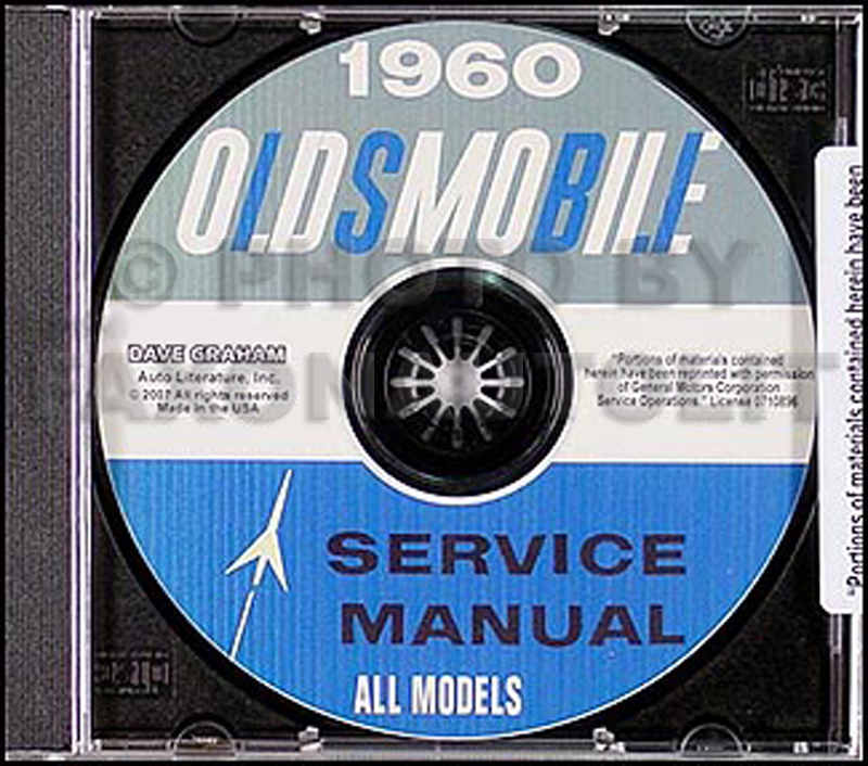 1960 Oldsmobile CD-ROM Shop Manual