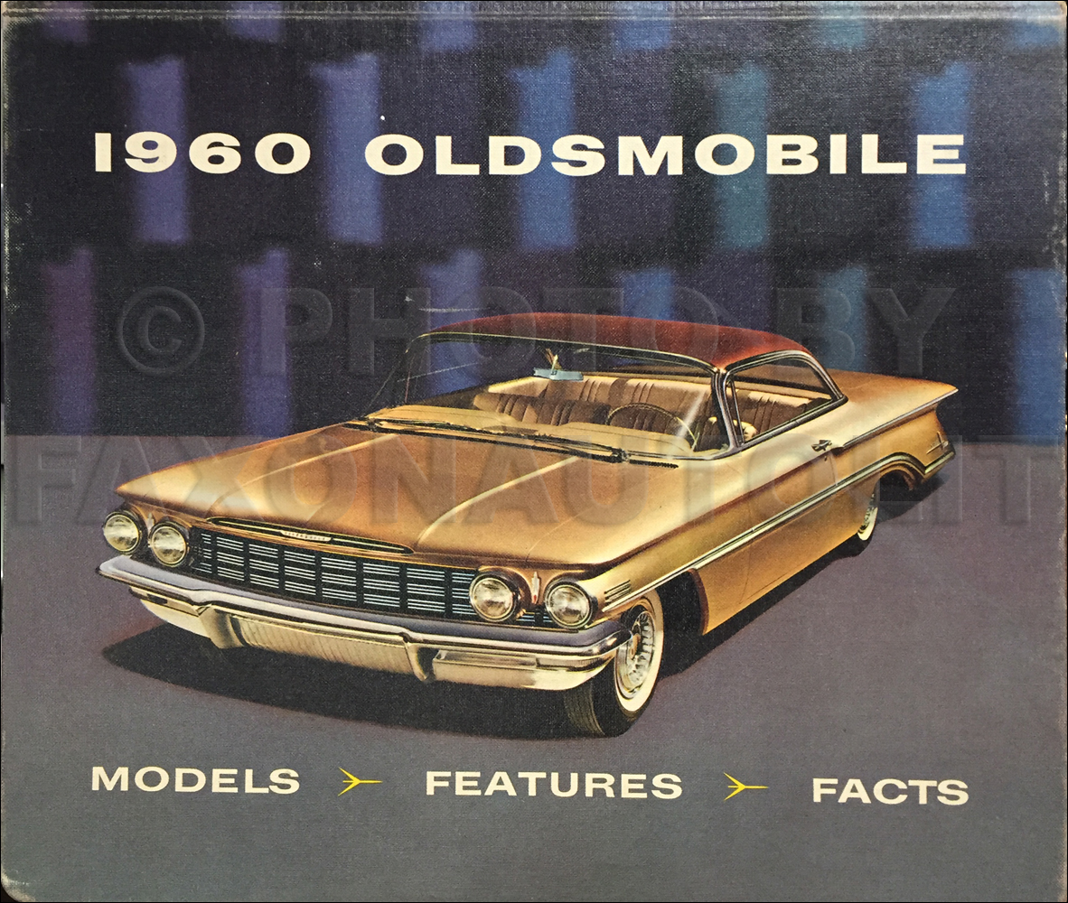 1960 Oldsmobile Data Book Dealer Album Original