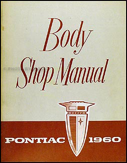 1960 Pontiac Body Manual Original