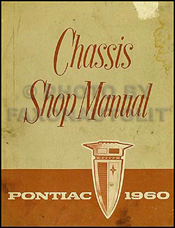1960 Pontiac Repair Shop Manual Orig. Bonneville Catalina Ventura Star Chief