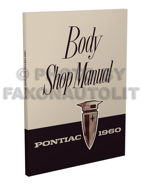 1960 Pontiac Body Manual Reprint