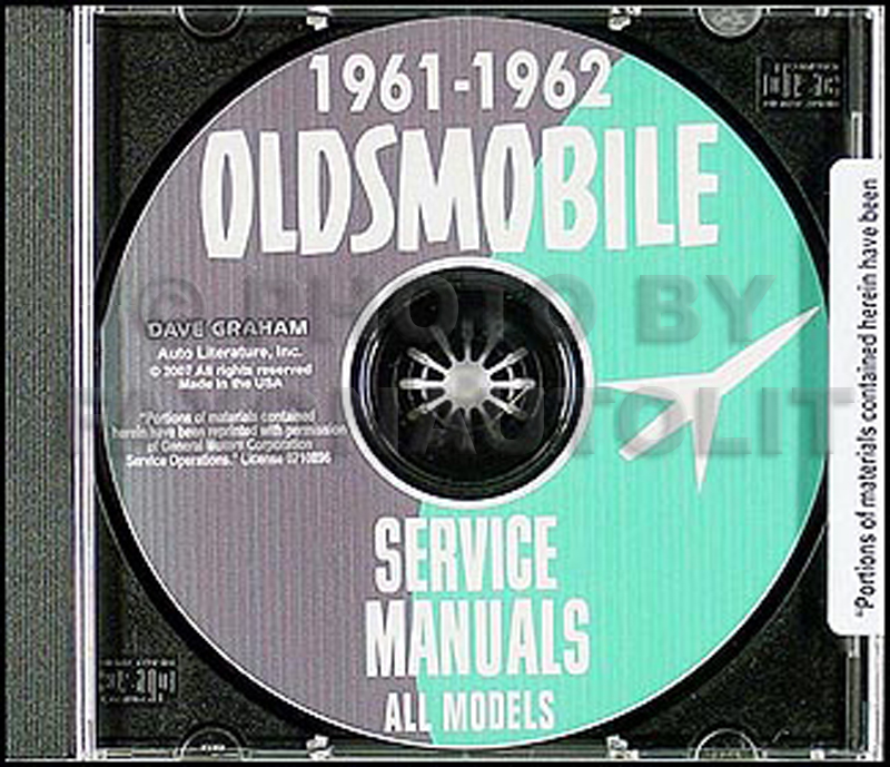 1961-1962 Oldsmobile CD-ROM Shop Manual