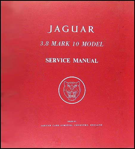 1961-1964 Jaguar XKE 3.8 Grand Touring Repair Manual Original