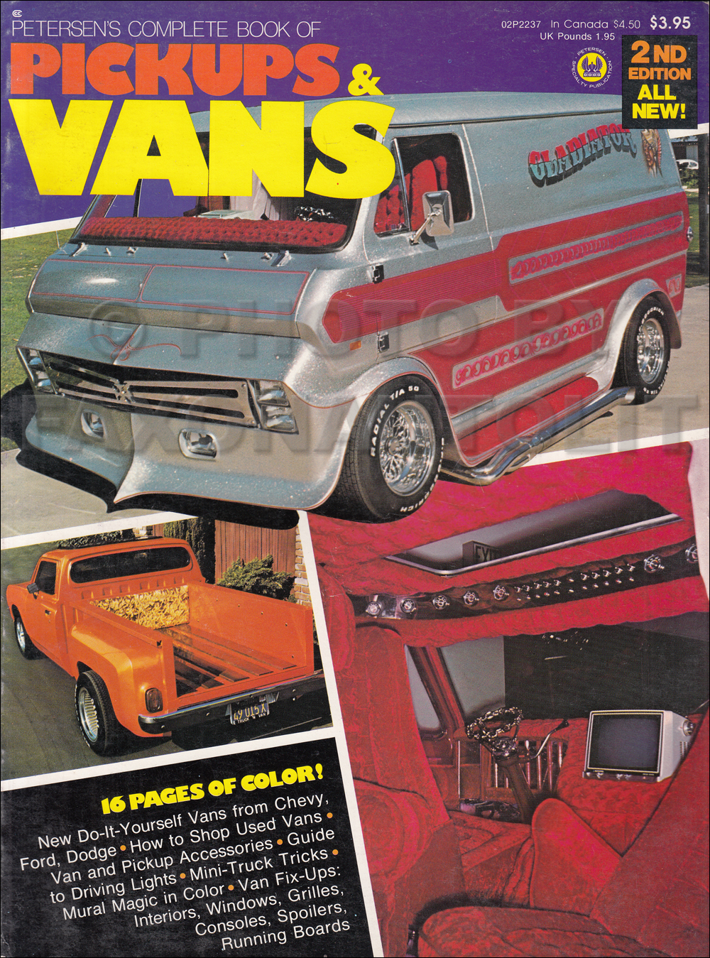 1961-1976 Petersen's Complete Book of Mini Pickups and Custom Vans 2nd Edition