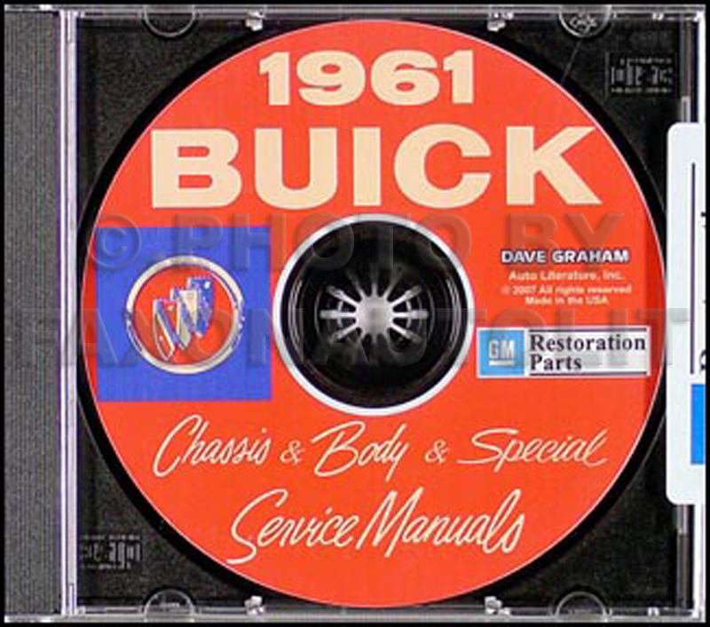 1961 Buick CD-ROM Shop Manual & Body Manual