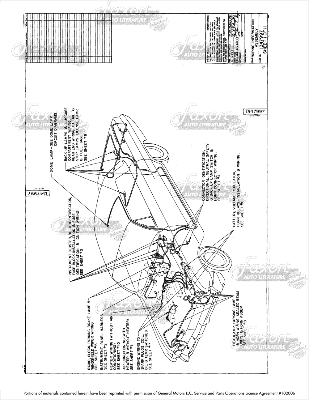 1961 Buick Factory Assembly Manual Reprint Invicta LeSabre Electra. click  on thumbnail to zoom