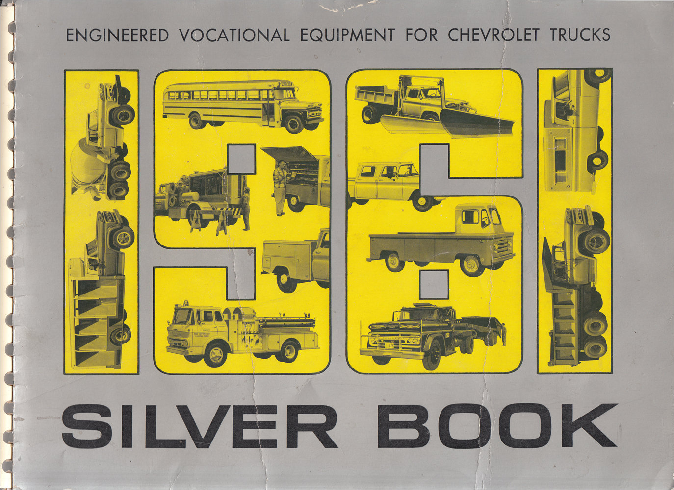 1961 Chevrolet Truck Silver Book Special Equipment Dealer Album