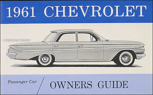 1961 Chevy Wiring Diagram Manual Reprint Impala Ss Biscayne Bel Air